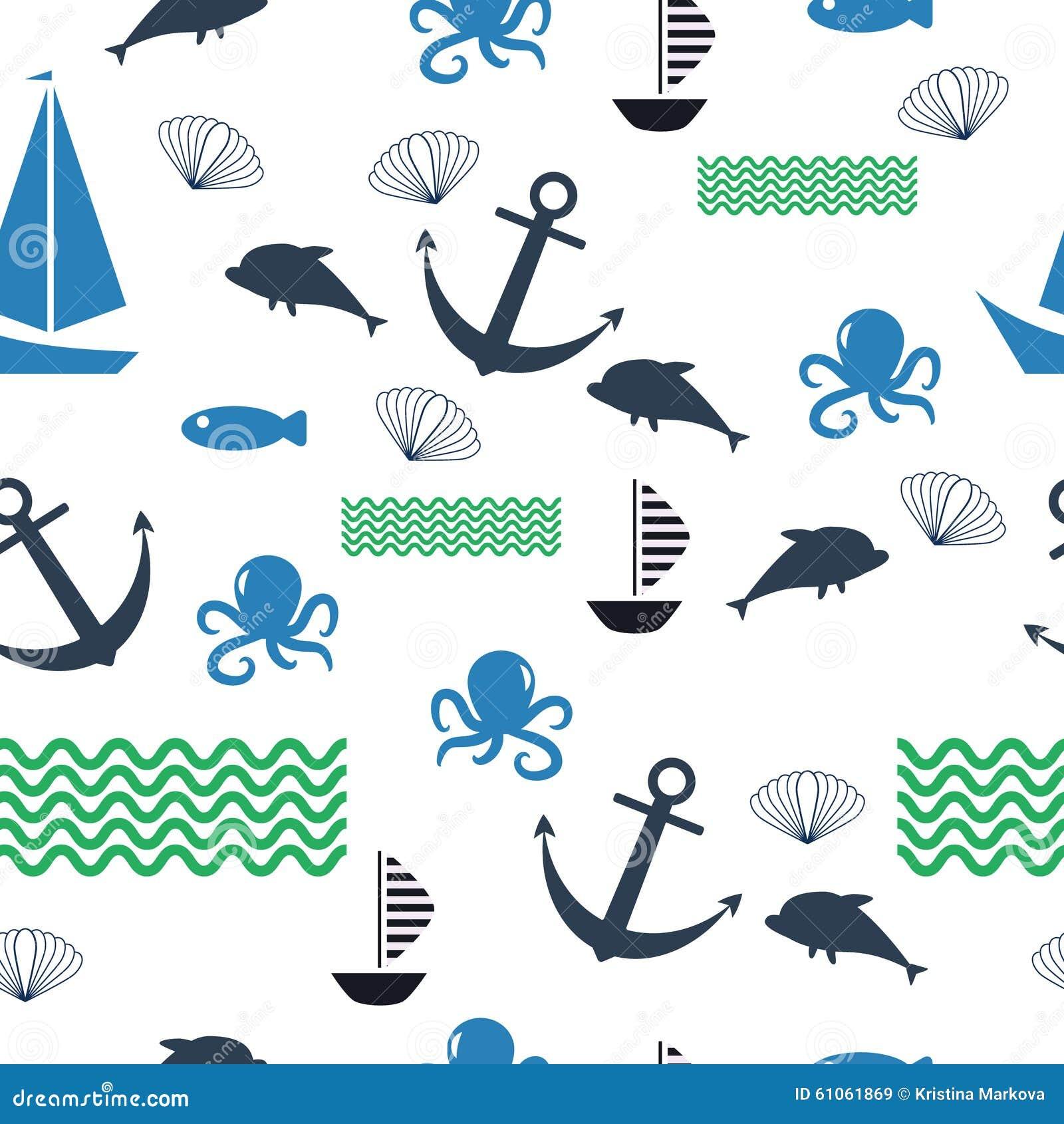 ocean fish wallpaper pattern - photo #6