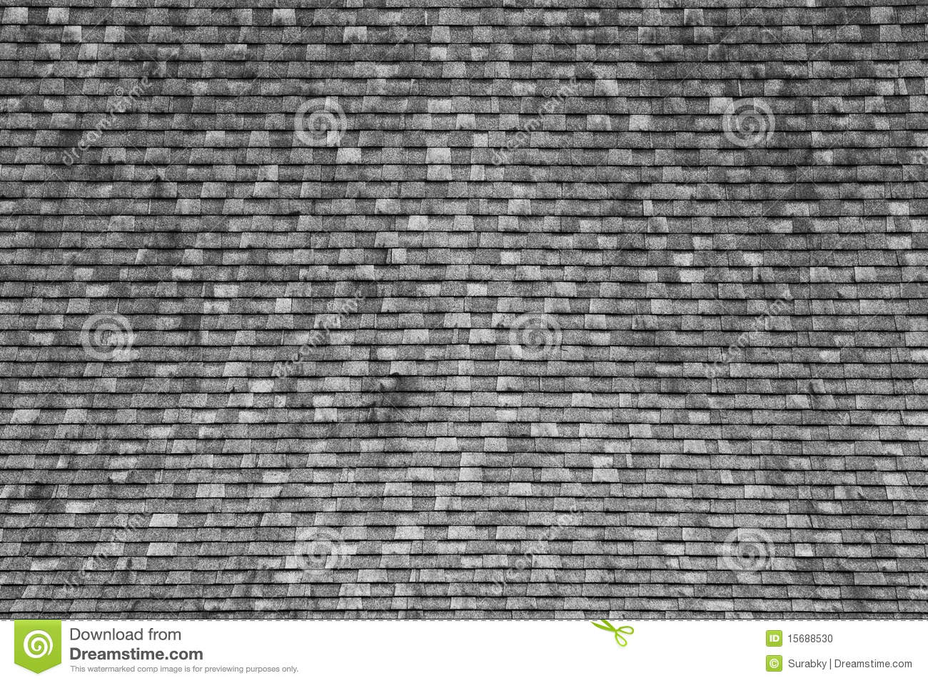 Pattern Of Thai Style Wood Tiles Roof Stock Photo Image
