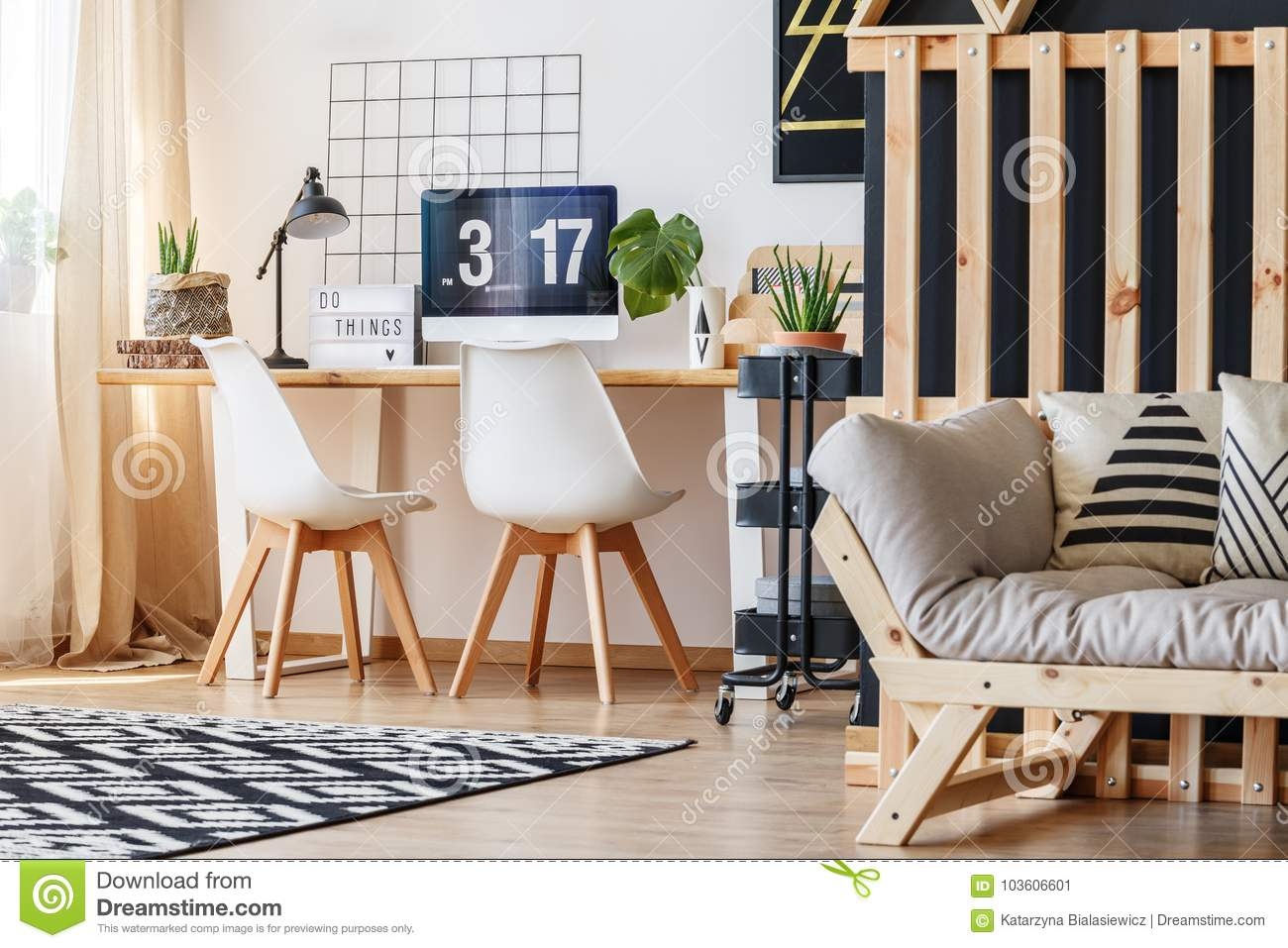 home office sofa. Scandi Home Office With Sofa S