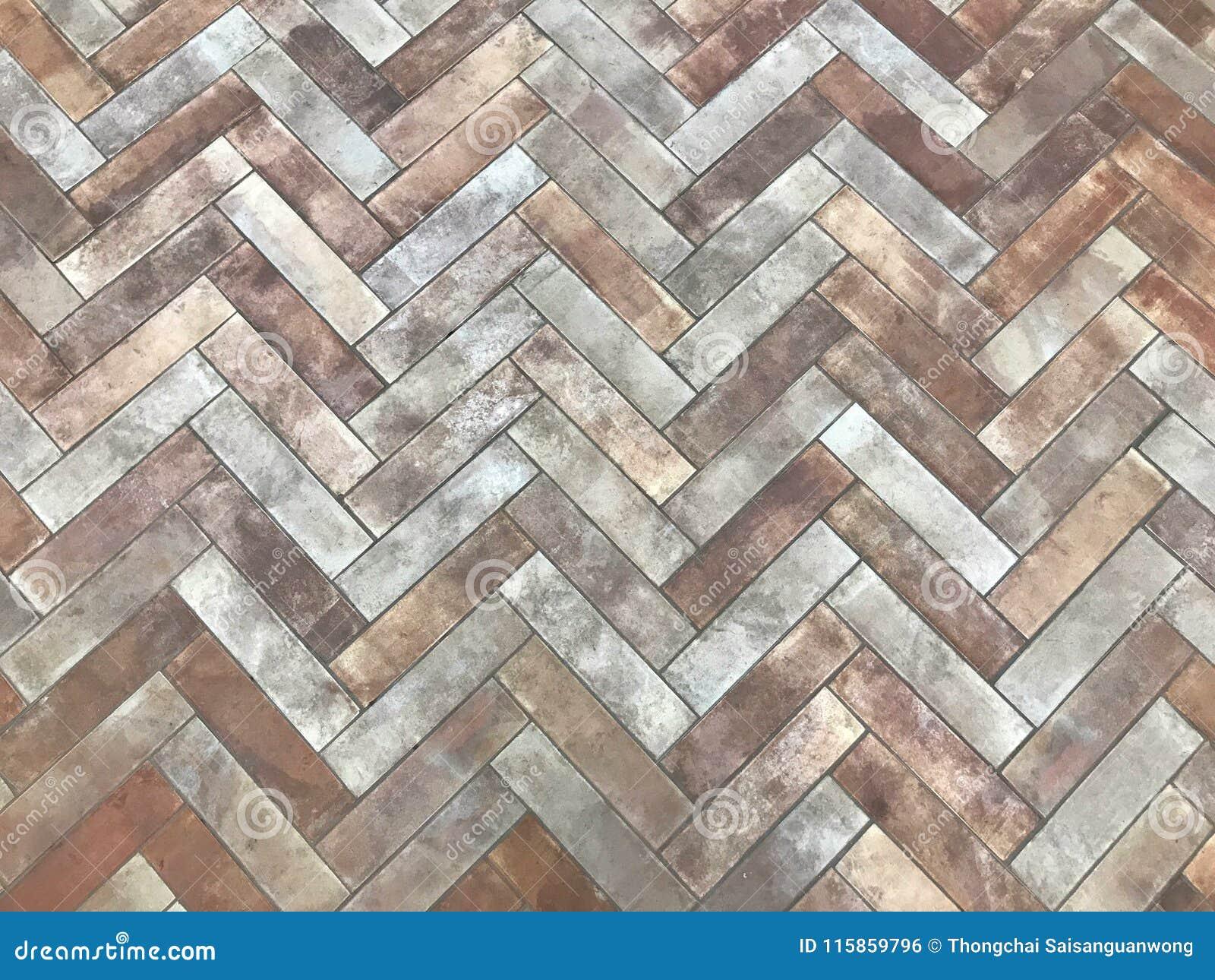 Patterns Of Paths Or Floors From The Arrangement Bricks Floor Tiles