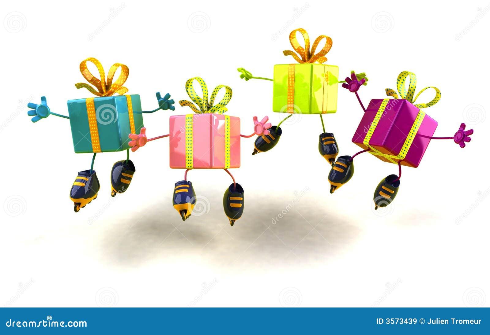 Pattinare dei regali