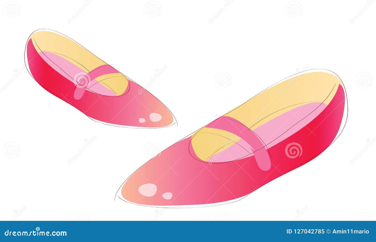 Pattini della donna Vettore delle scarpe femminili della raccolta