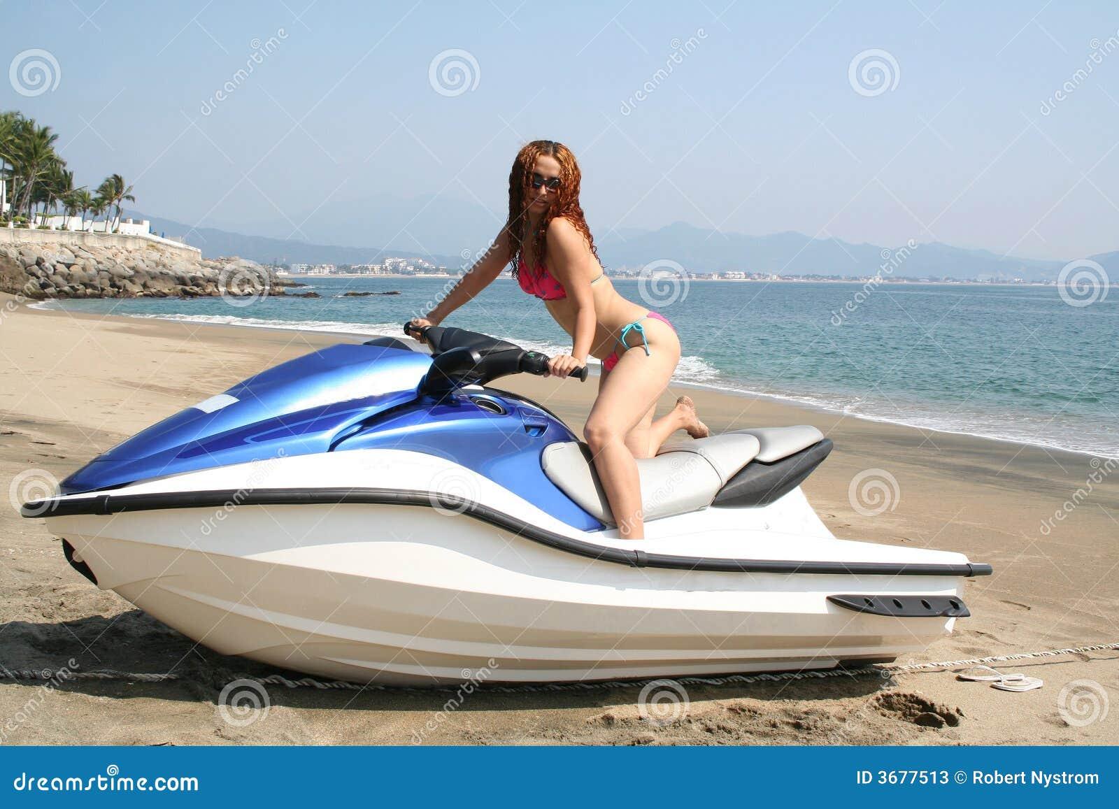 Download Pattino del jet immagine stock. Immagine di erotic, posizione - 3677513