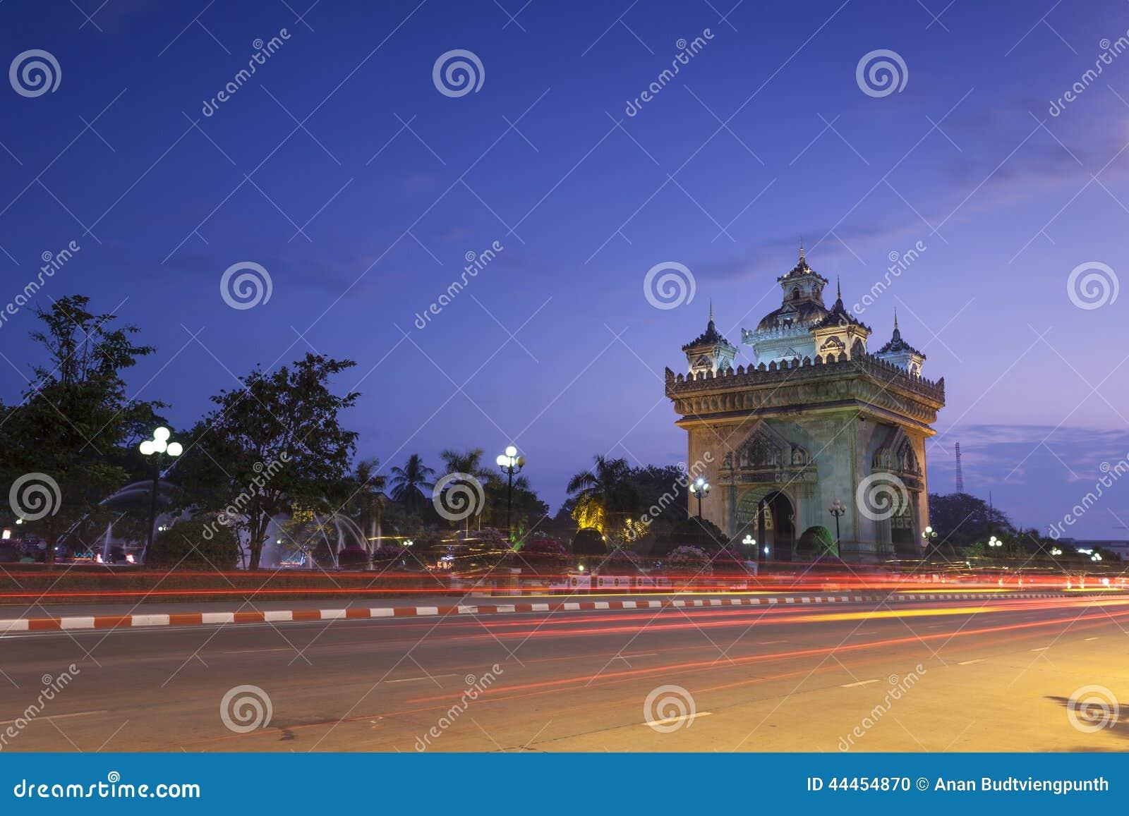 Patuxai Вьентьян, Лаос
