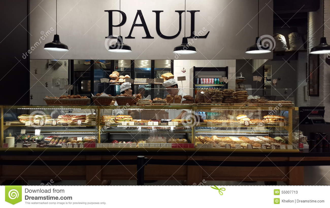 Paul Bakery Editorial Stock Photo Image 55007713