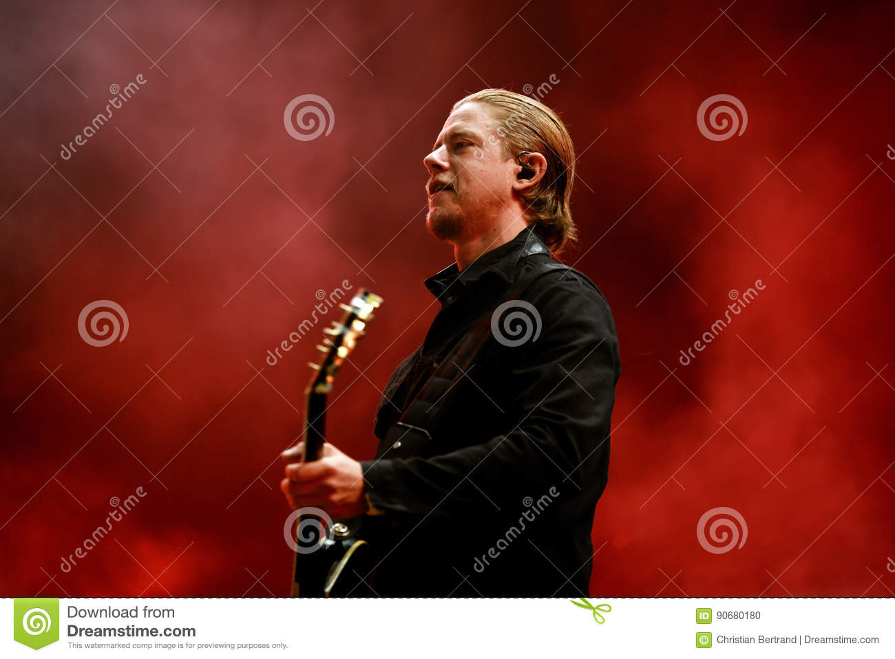 paul banks frontman of interpol band performs at primavera sound