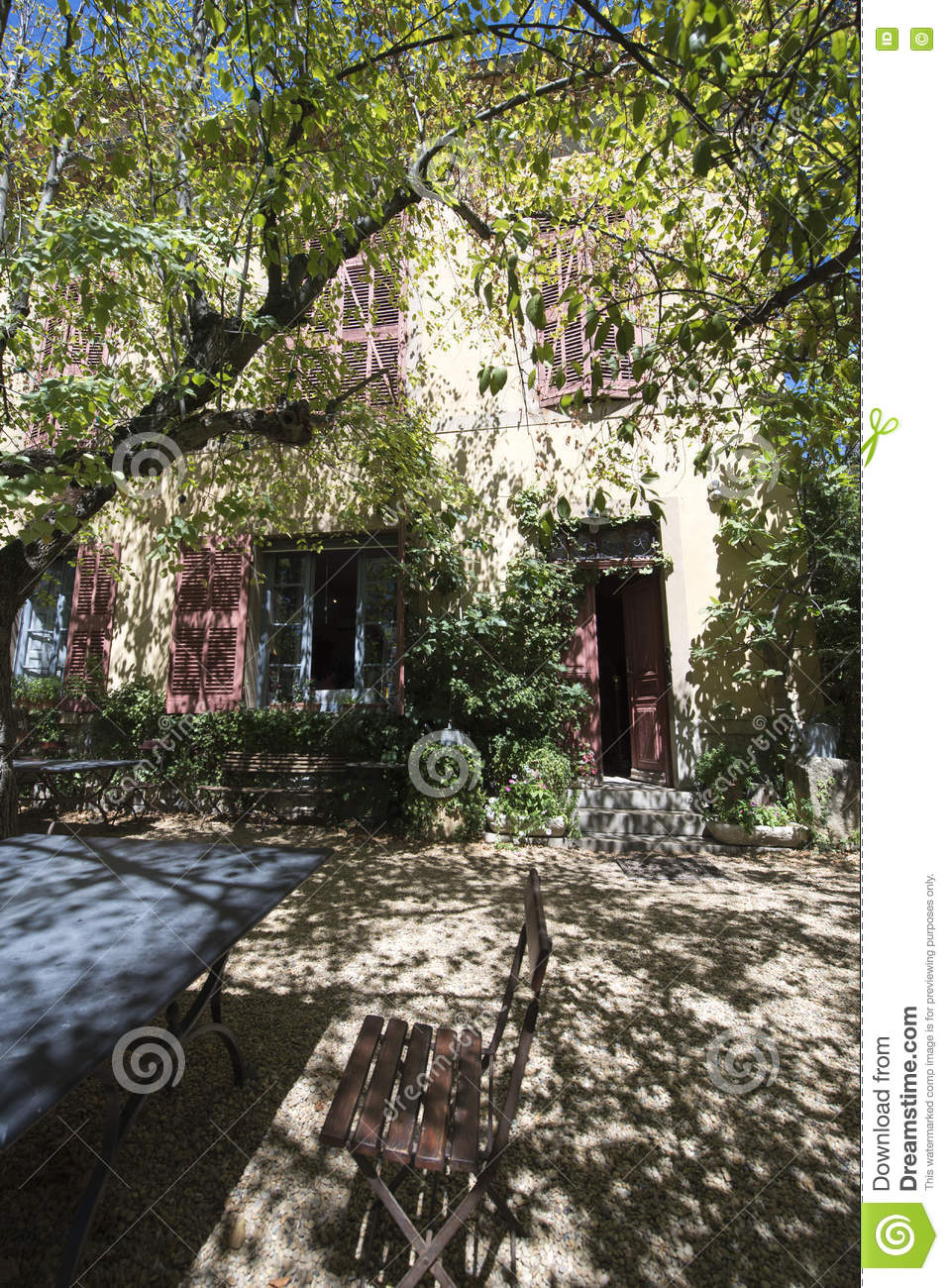Paul Cezanne Studio, Aix-en-Provence, France Stock Image - Image of mansion, objects: 76554733