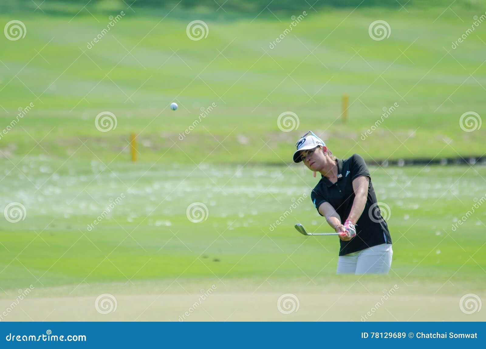 Paula Creamer dos EUA em Honda LPGA Tailândia 2016