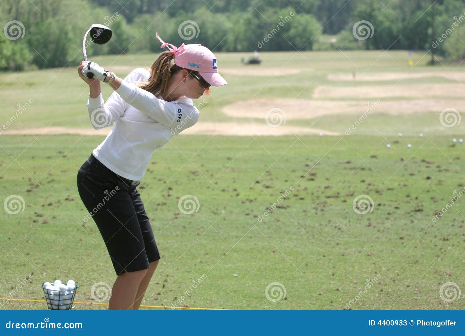Paula-Rahmtopf, LPGA Golf Ausflug, Stockbridge, 2006