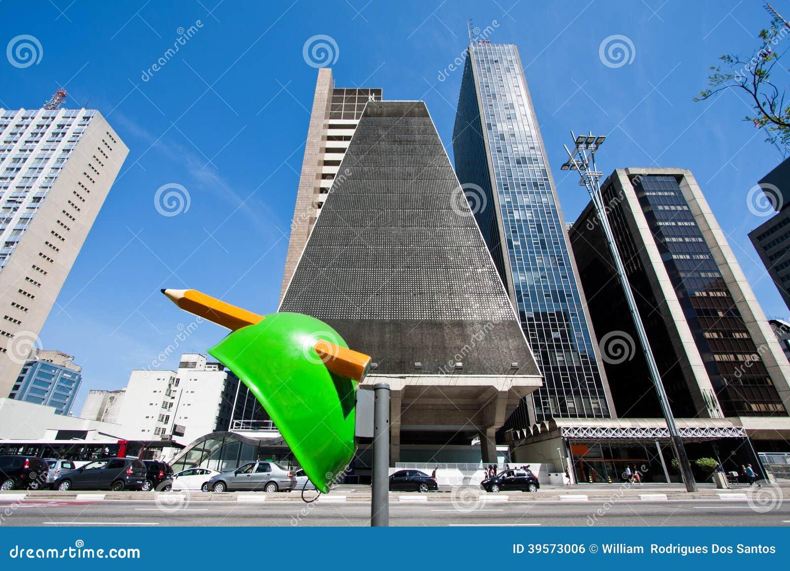 Paulista aveny, São Paulo-Brasilien