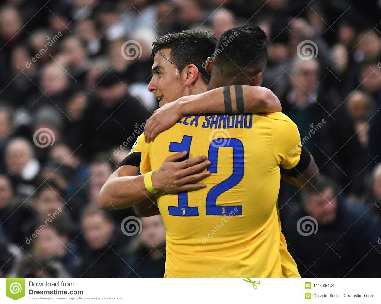separation shoes d9858 41c84 Paulo Dybala And Alex Sandro Goal Celebration Editorial ...