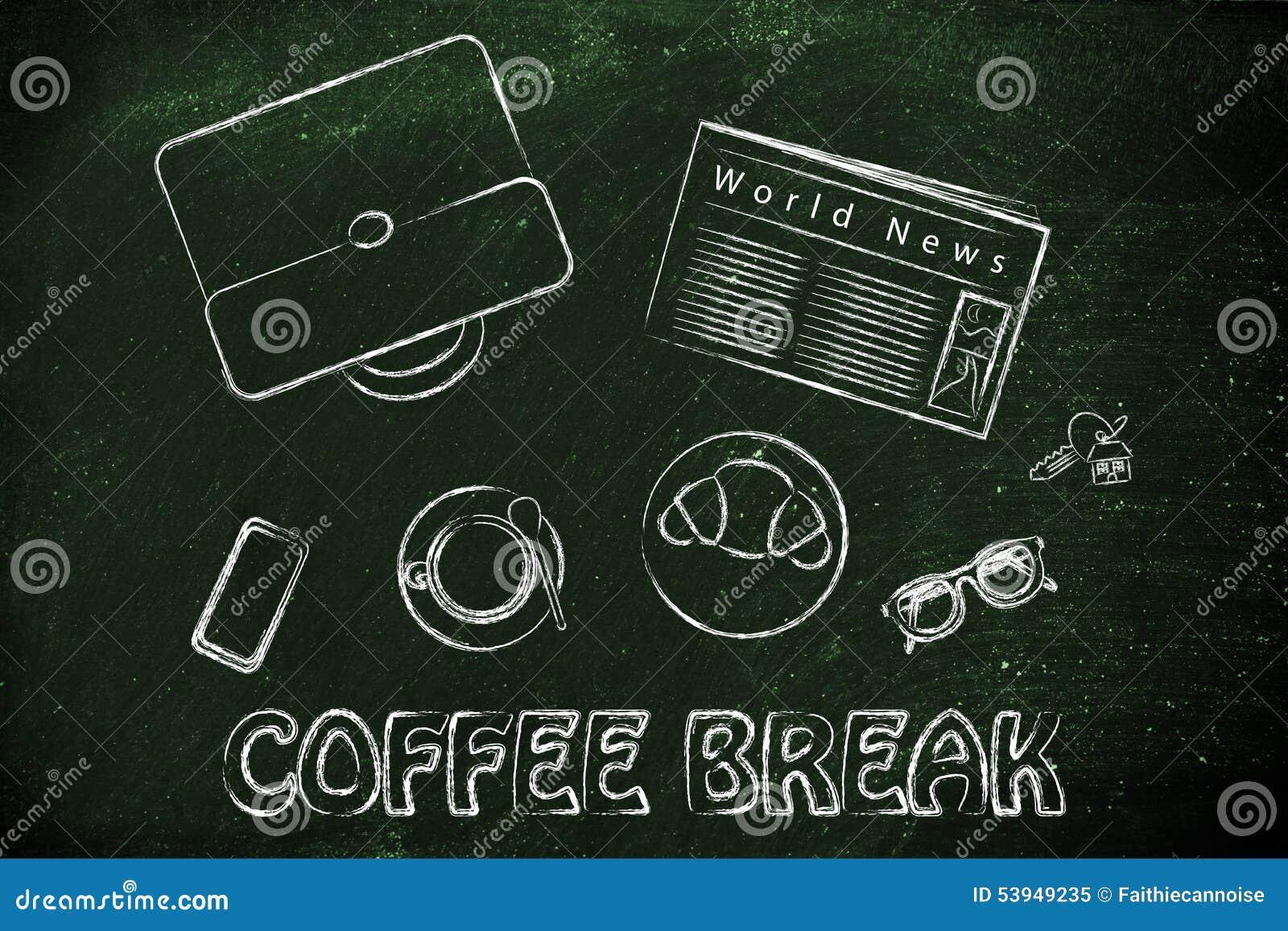 e6887ca5bbf Pause-café au déjeuner de travail ou d affaires avec un client   table avec  du café