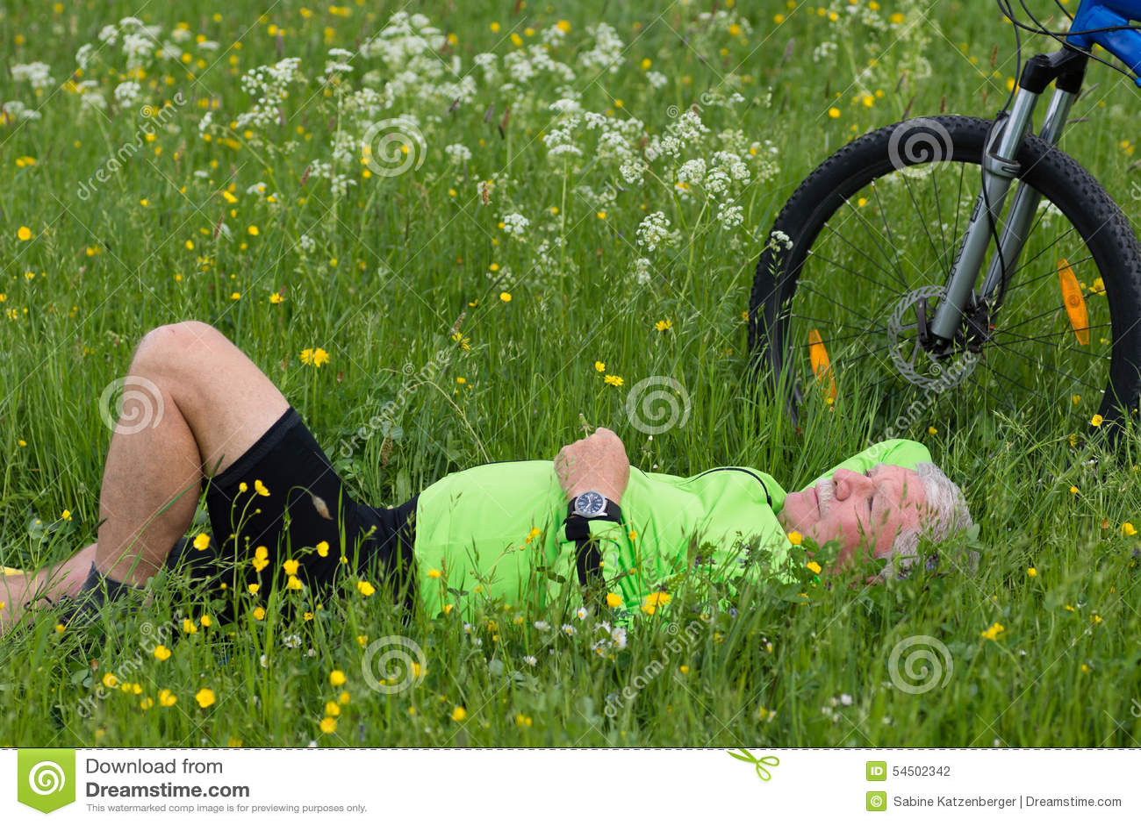 Pause d un cycliste