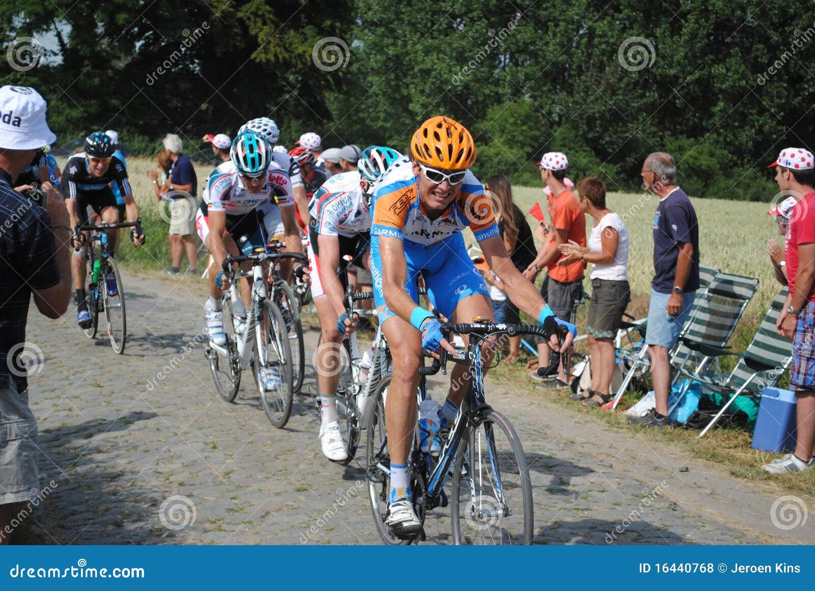 Pavés ronds blessés (Tour de France  10)