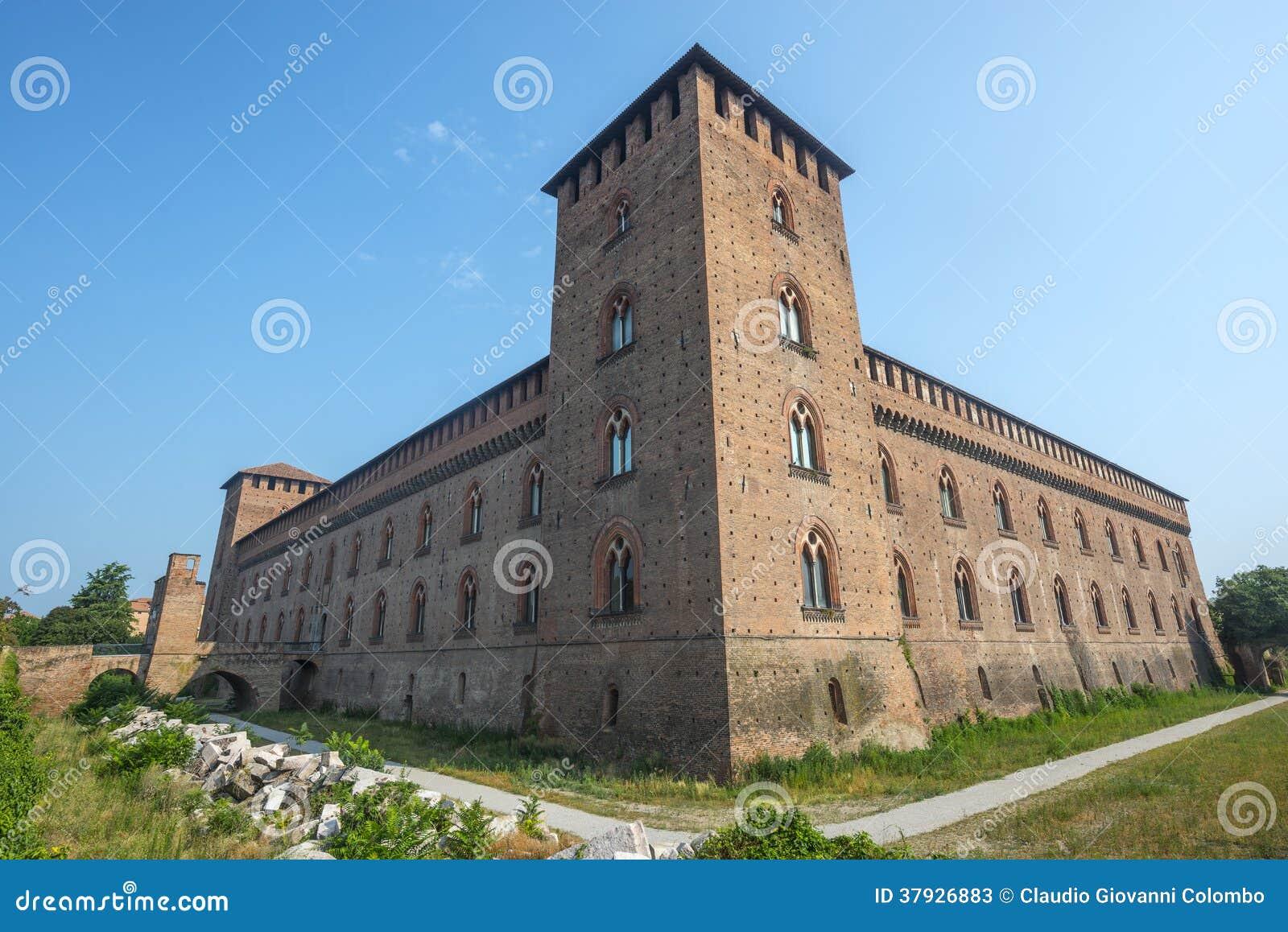 Pavía, castillo