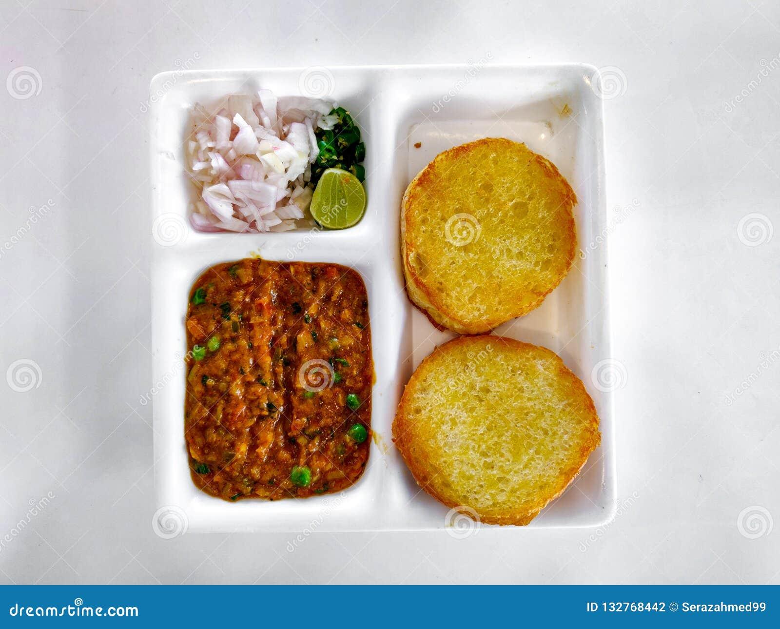 Pav Bhaji Indisk maträtt curry