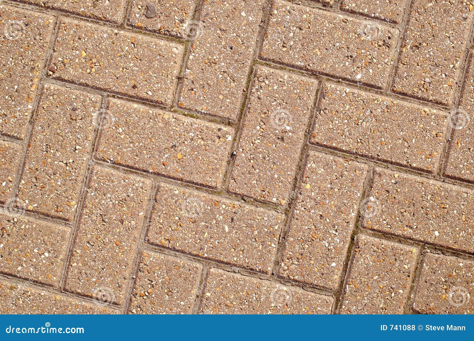 Pavage à angles de bloc