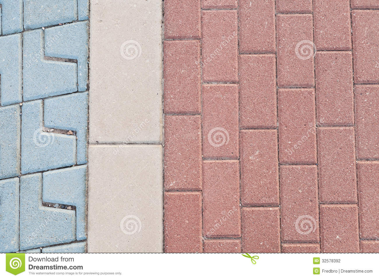 Pavers Stock Photo Image Of Hard Stone Texture Colors