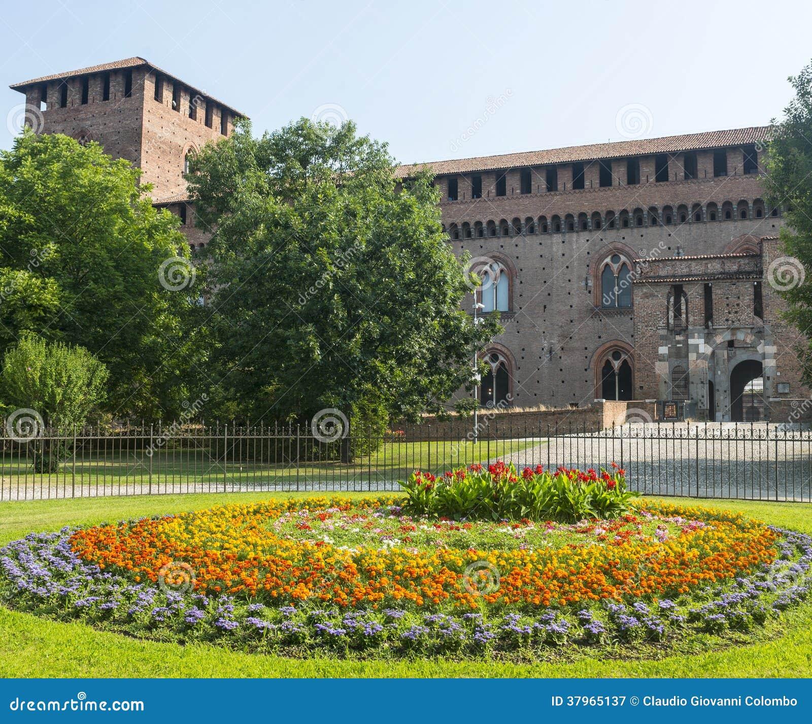 Pavia, kasztel