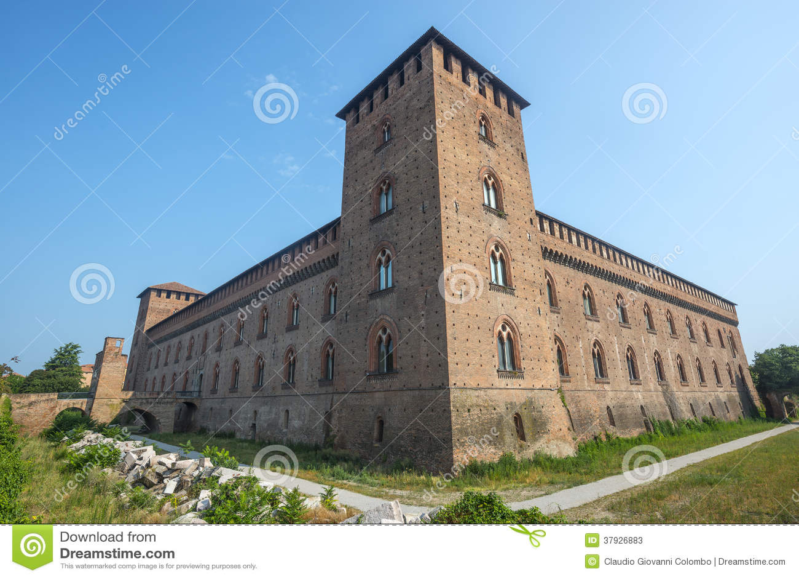Pavia slott