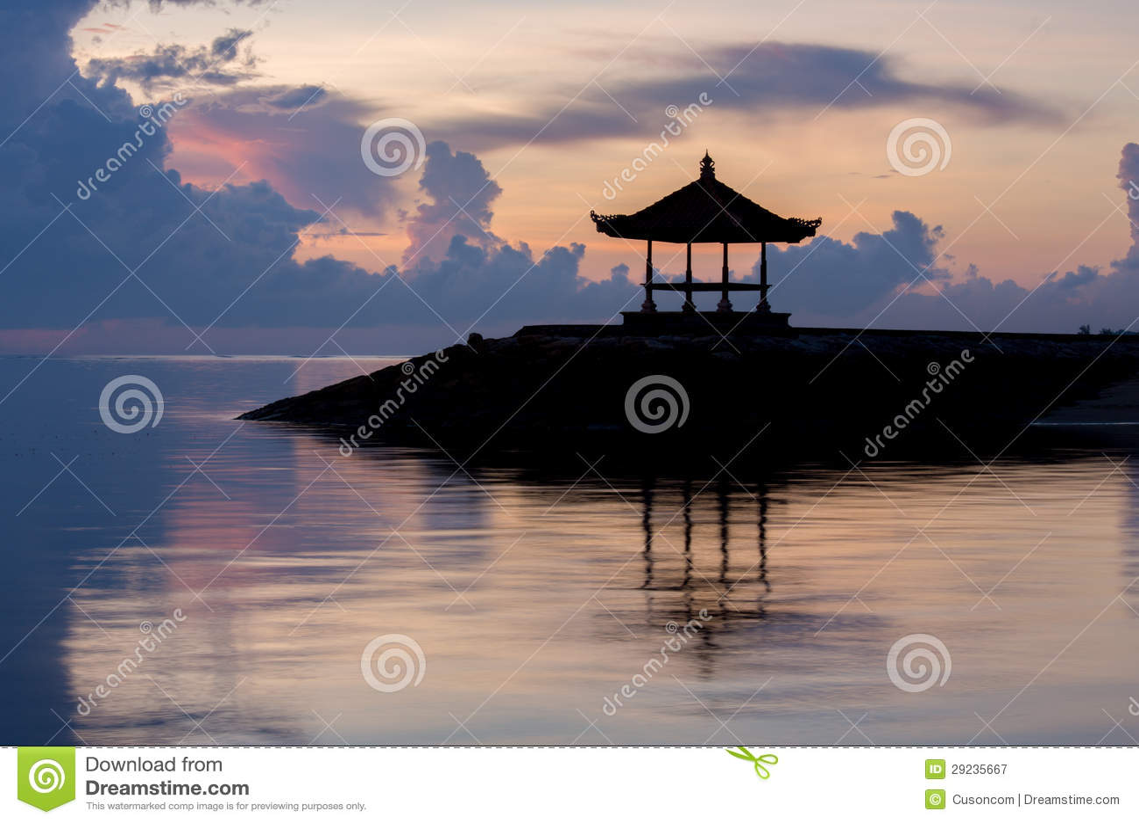 Download Pavilhão tradicional imagem de stock. Imagem de ásia - 29235667