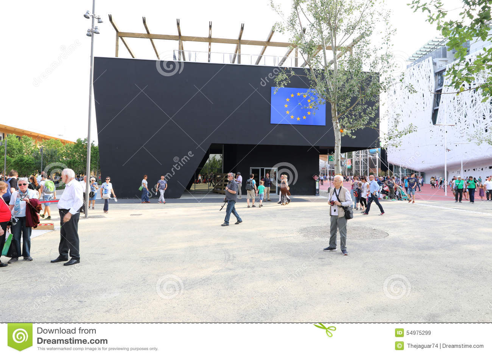 Paviljong Milan, milano för europeisk union expo 2015