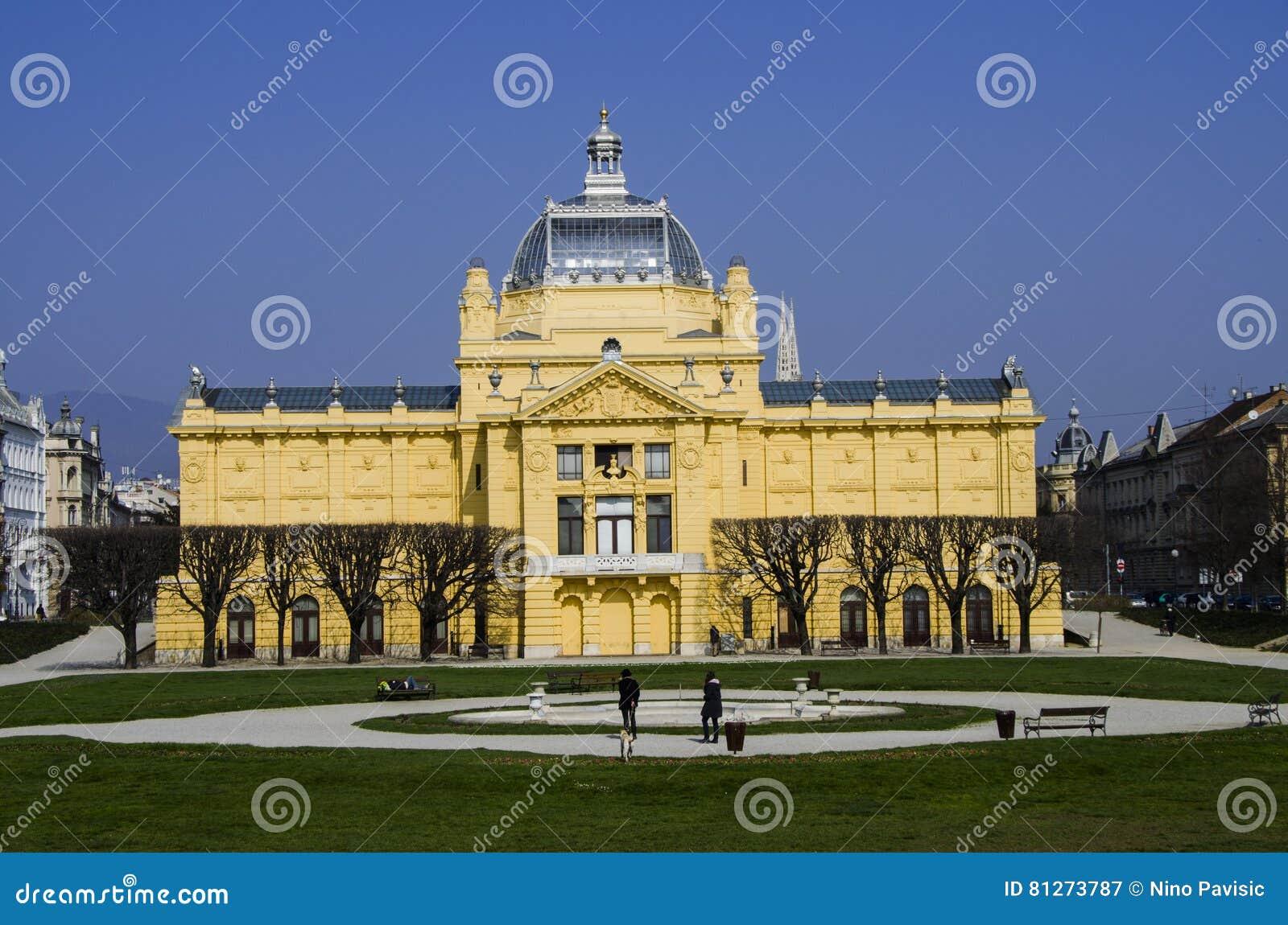 Pavillion del arte en Zagreb