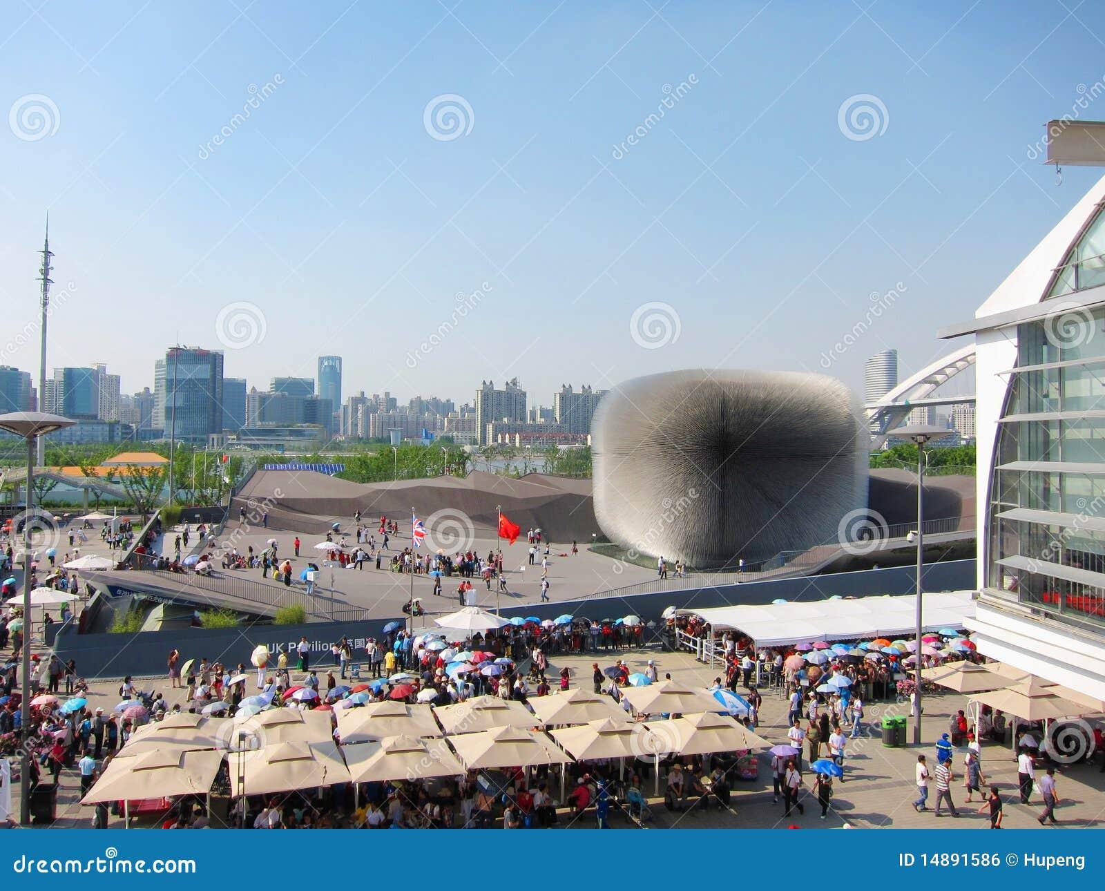 Pavillon 2010 du Royaume-Uni d expo de Changhaï