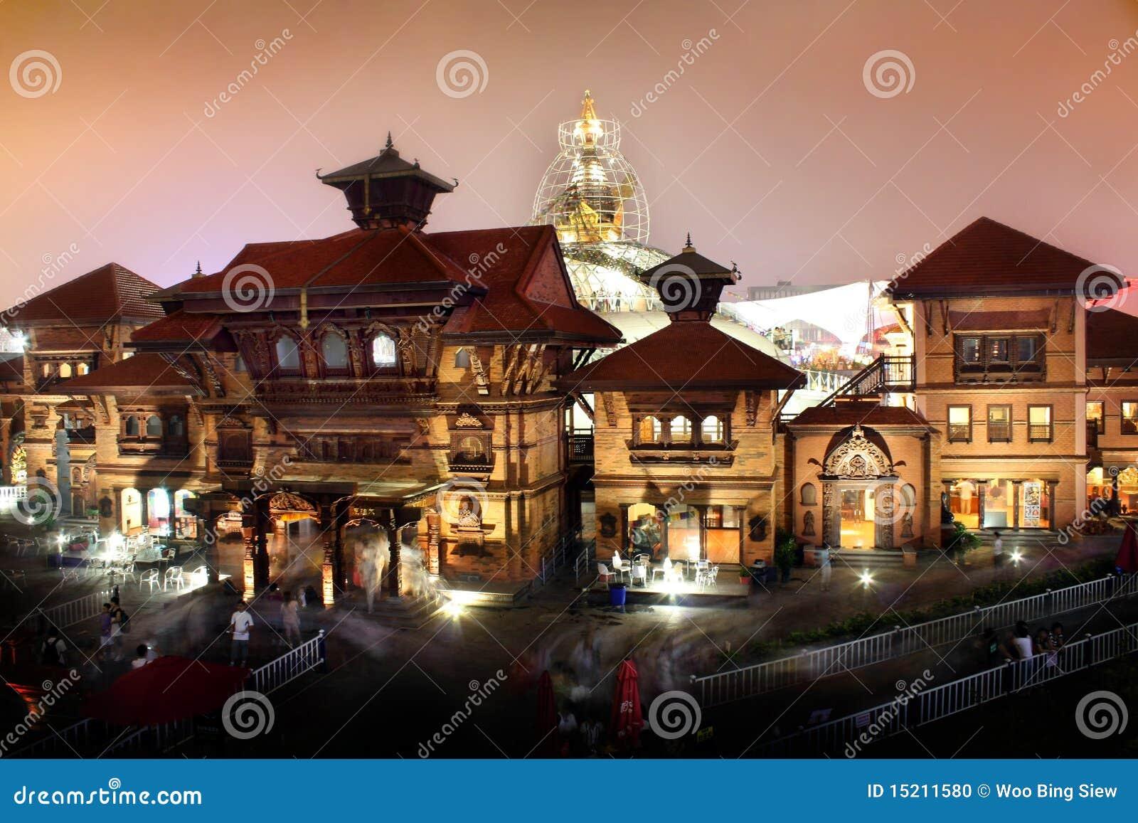 Pavillon du Népal d expo du monde de Changhaï