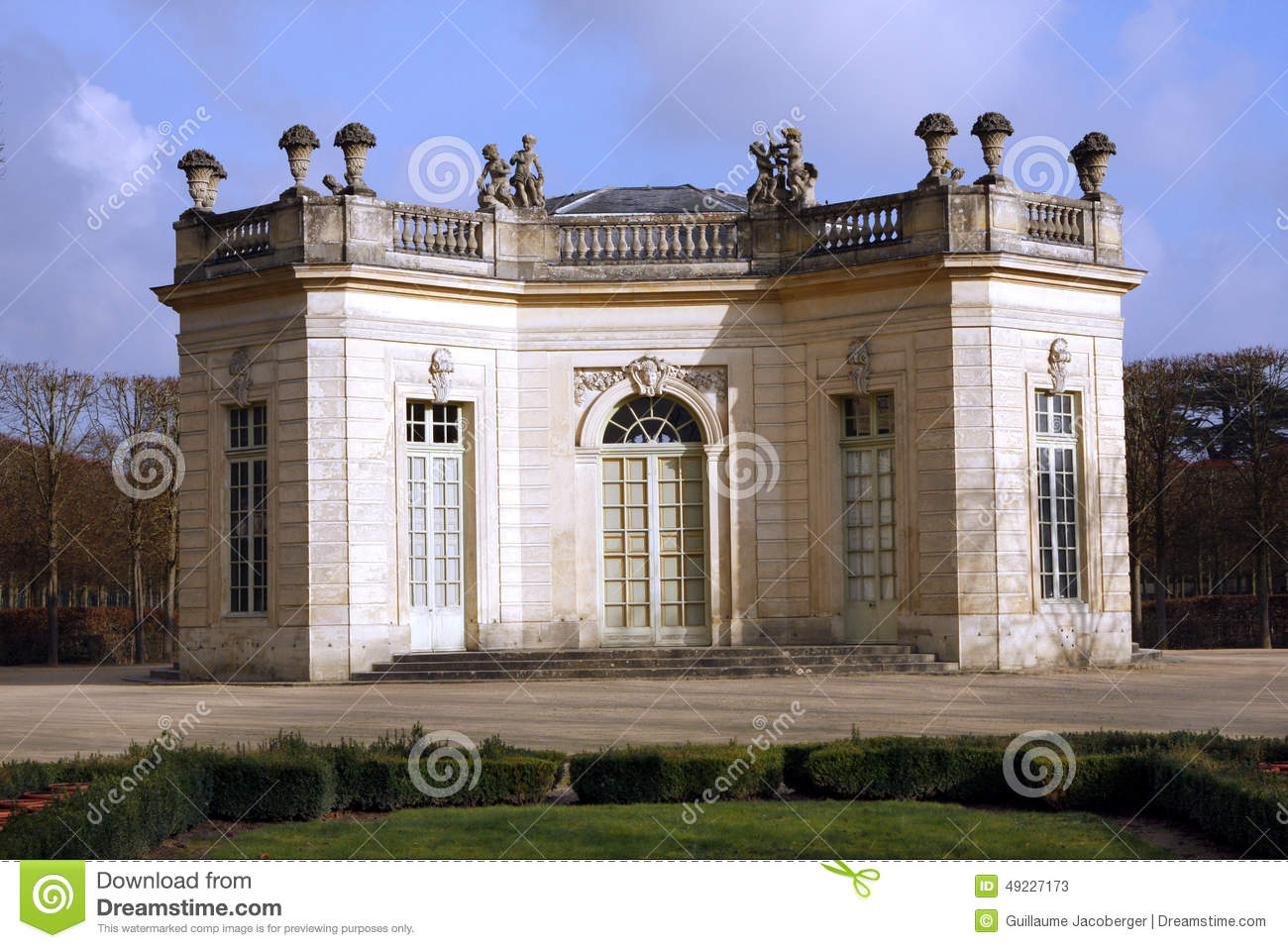 The Pavillon Français - Versailles