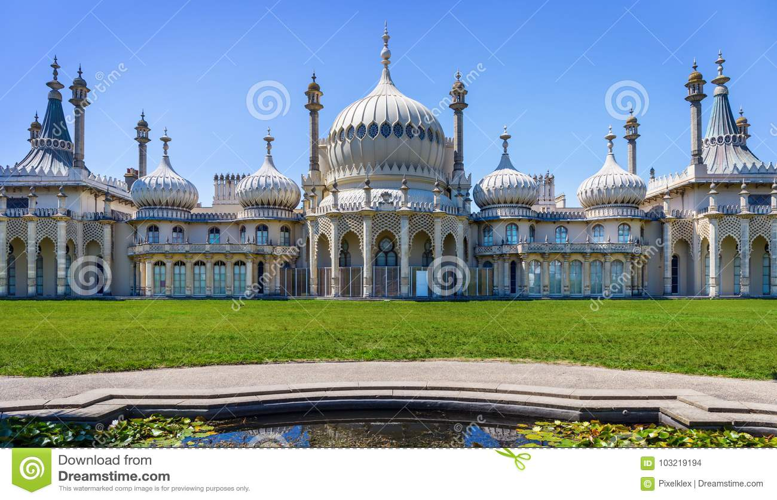 Pavillon royal à Brighton, Angleterre