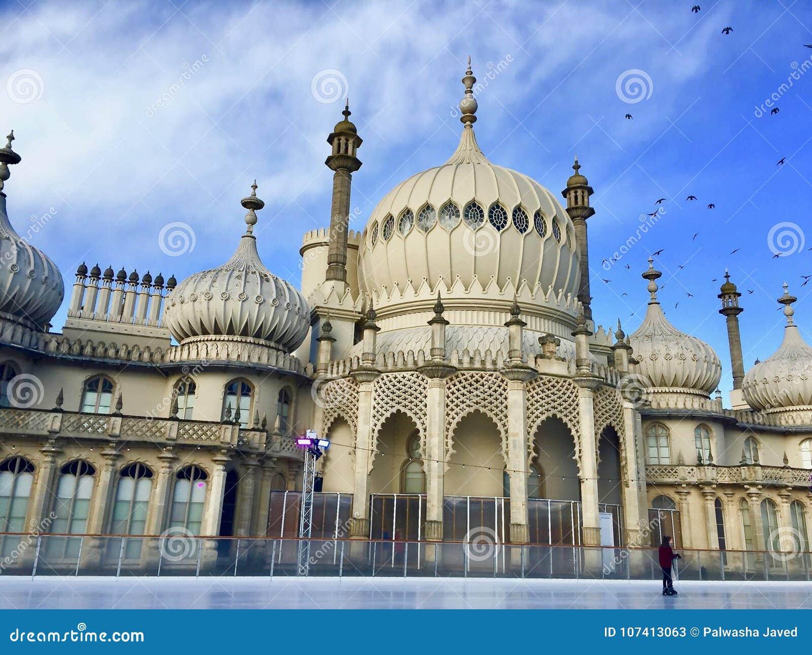 Pavillon royal à Brighton dans le Sussex est au R-U
