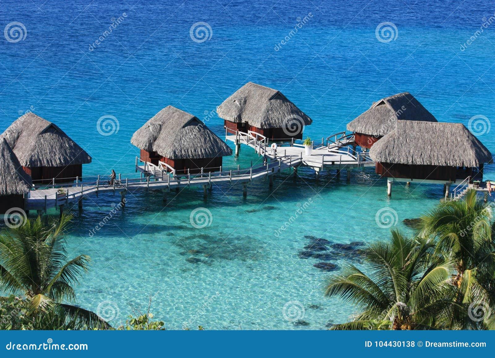 Pavillons d Overwater en Bora Bora