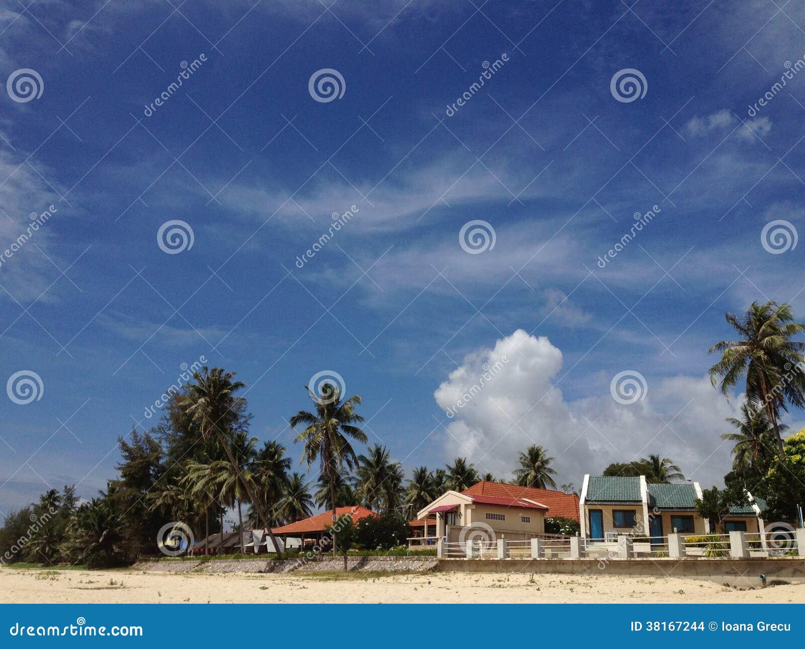 Pavillons de plage