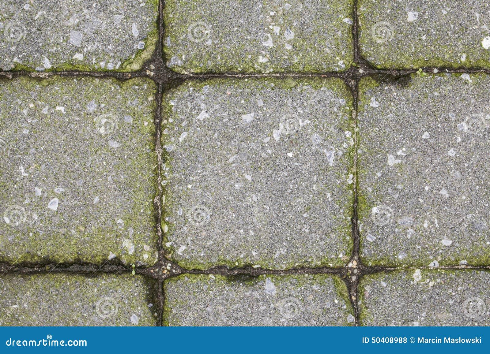 Pavimentación de los azulejos