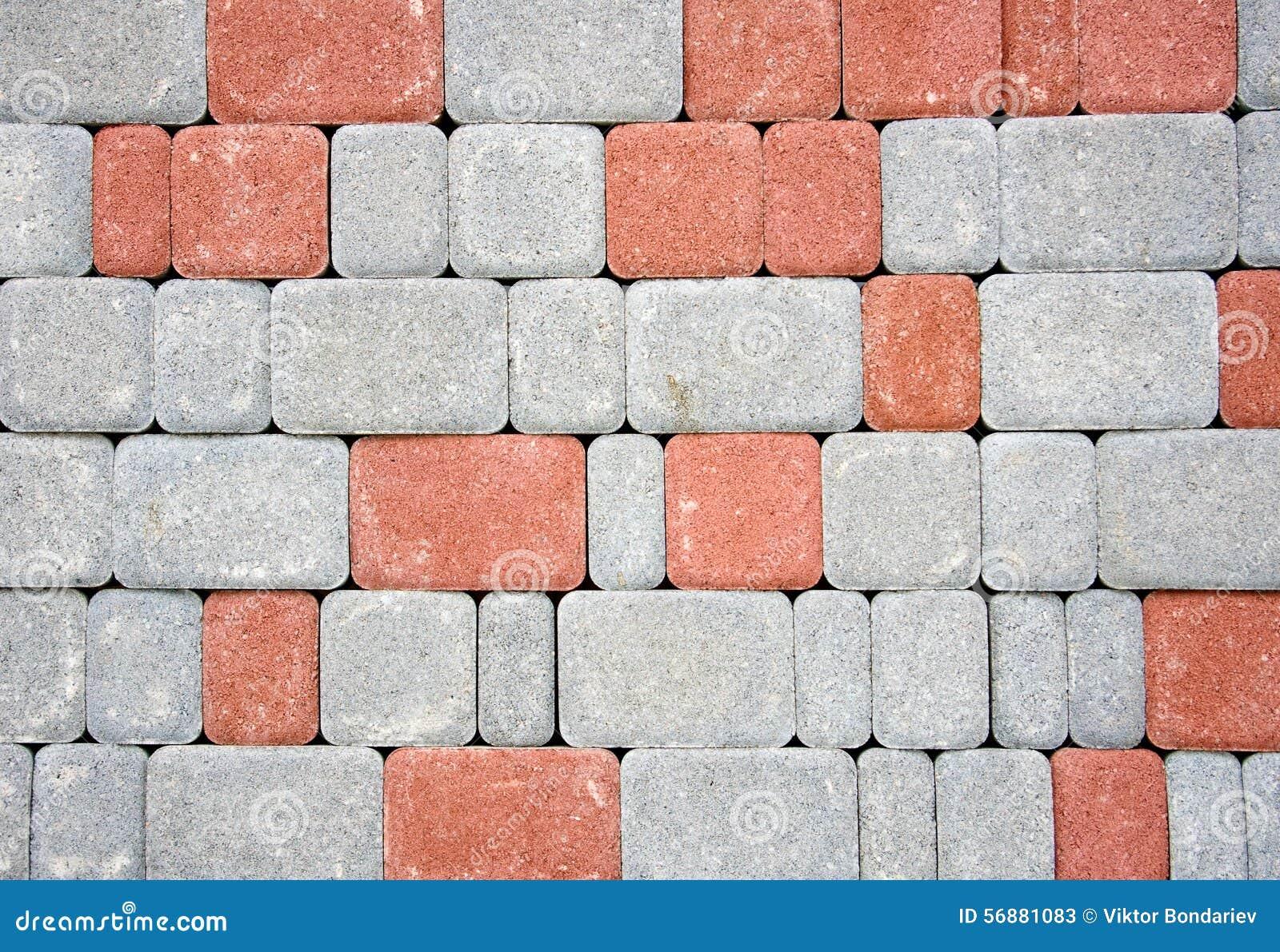 Pavimentazione colorata come fondo