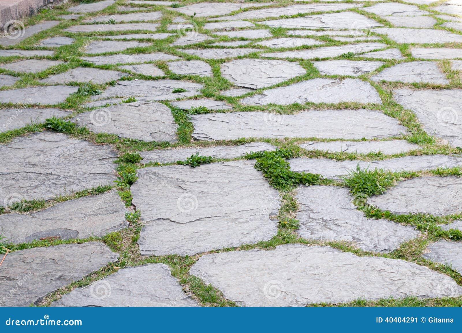 Pavimentazione del giardino immagine stock immagine di - Pavimentazione giardino in pietra ...