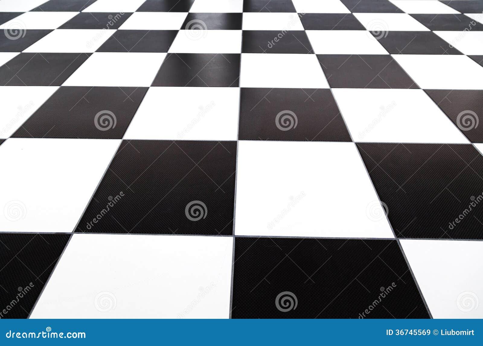 Pavimentazione in piastrelle a quadretti illustrazione di stock