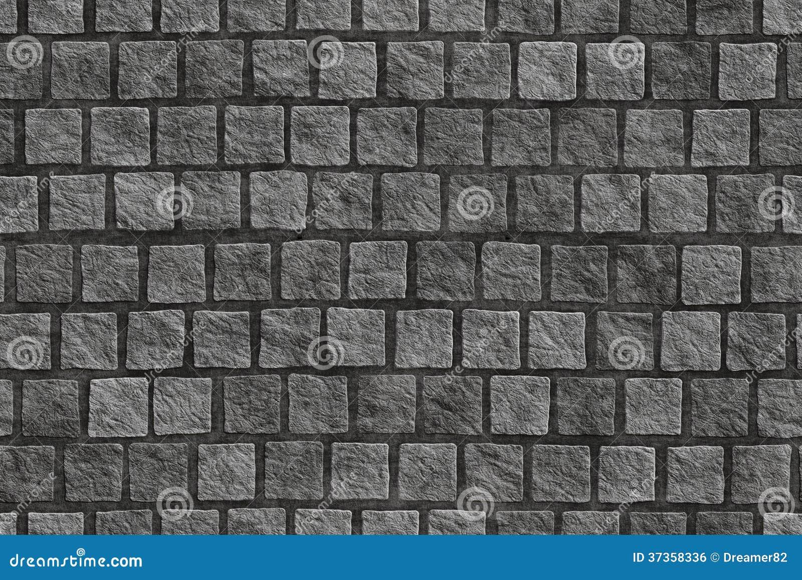 Pavimento cobblestoned do granito