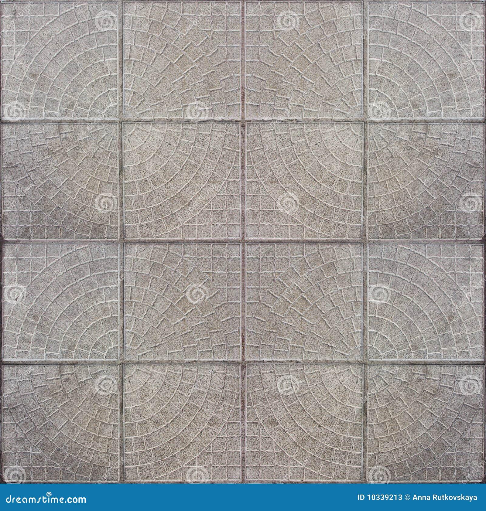 Pavimento concreto embaldosado del mosaico fotos de for Mosaico pavimento