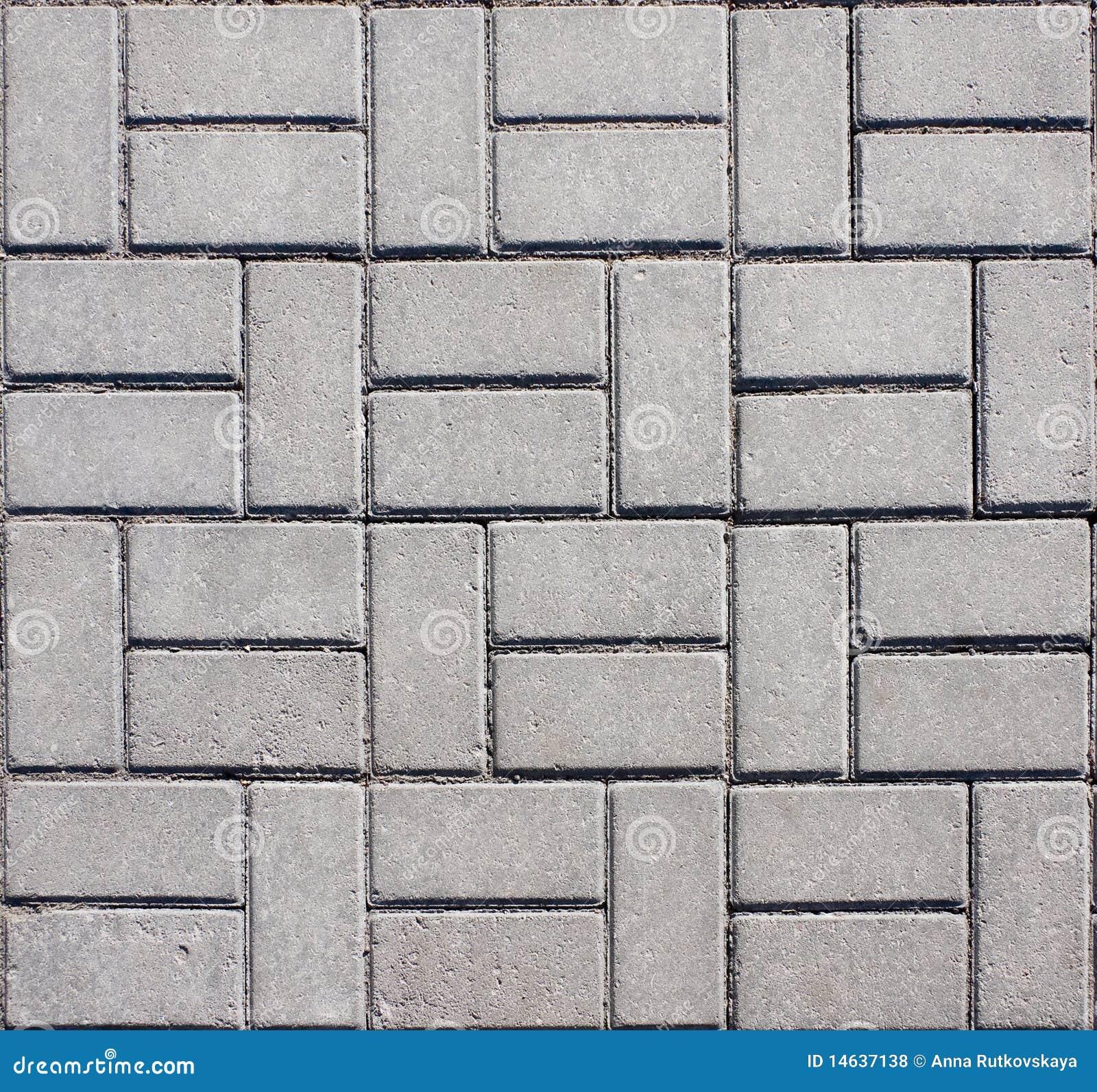 Pavimento concreto embaldosado del mosaico foto de archivo - Pavimento de cemento ...