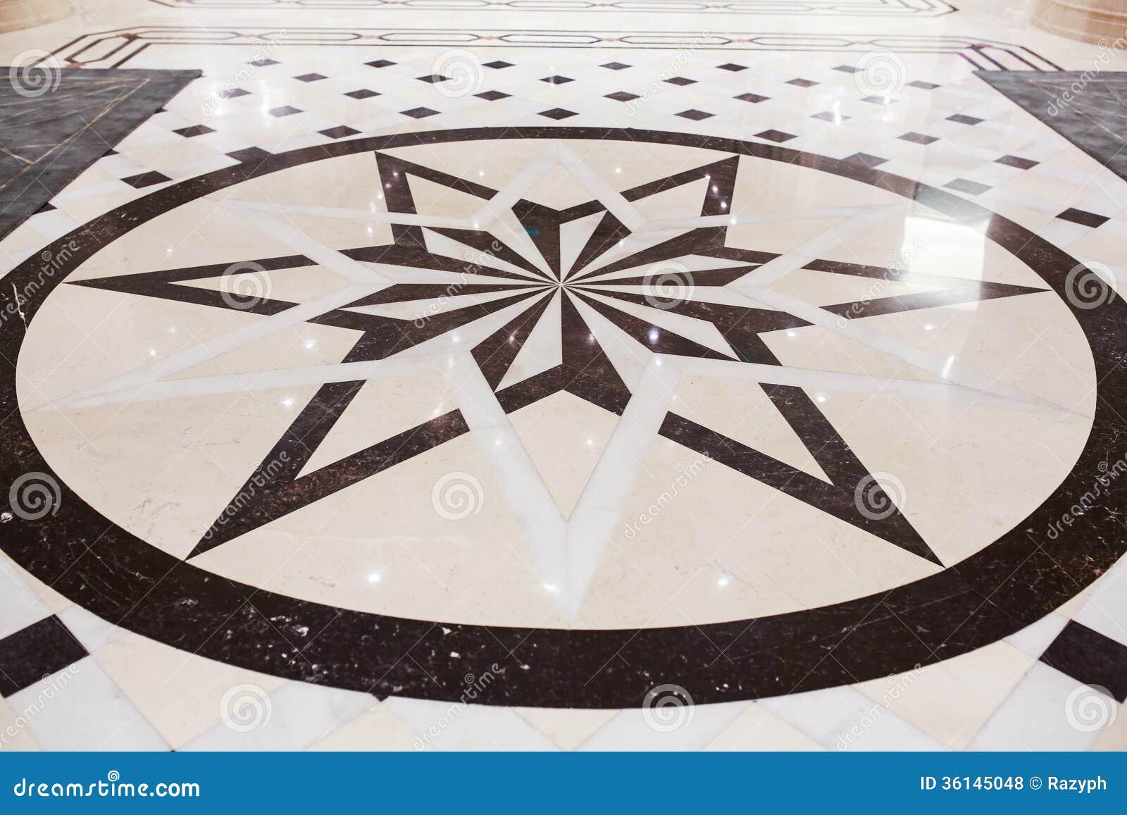estrella interior pavimento