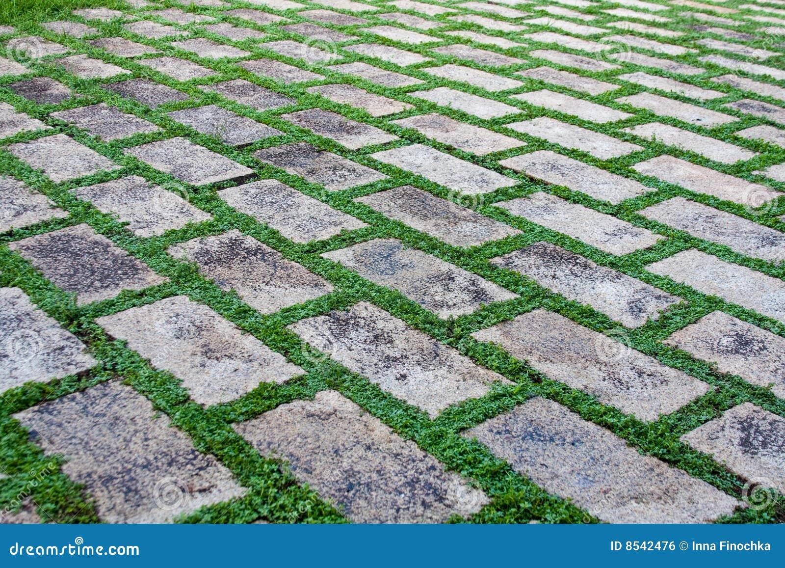 Pavimento de pedra imagem de stock royalty free imagem - Pavimentos para jardines exteriores ...