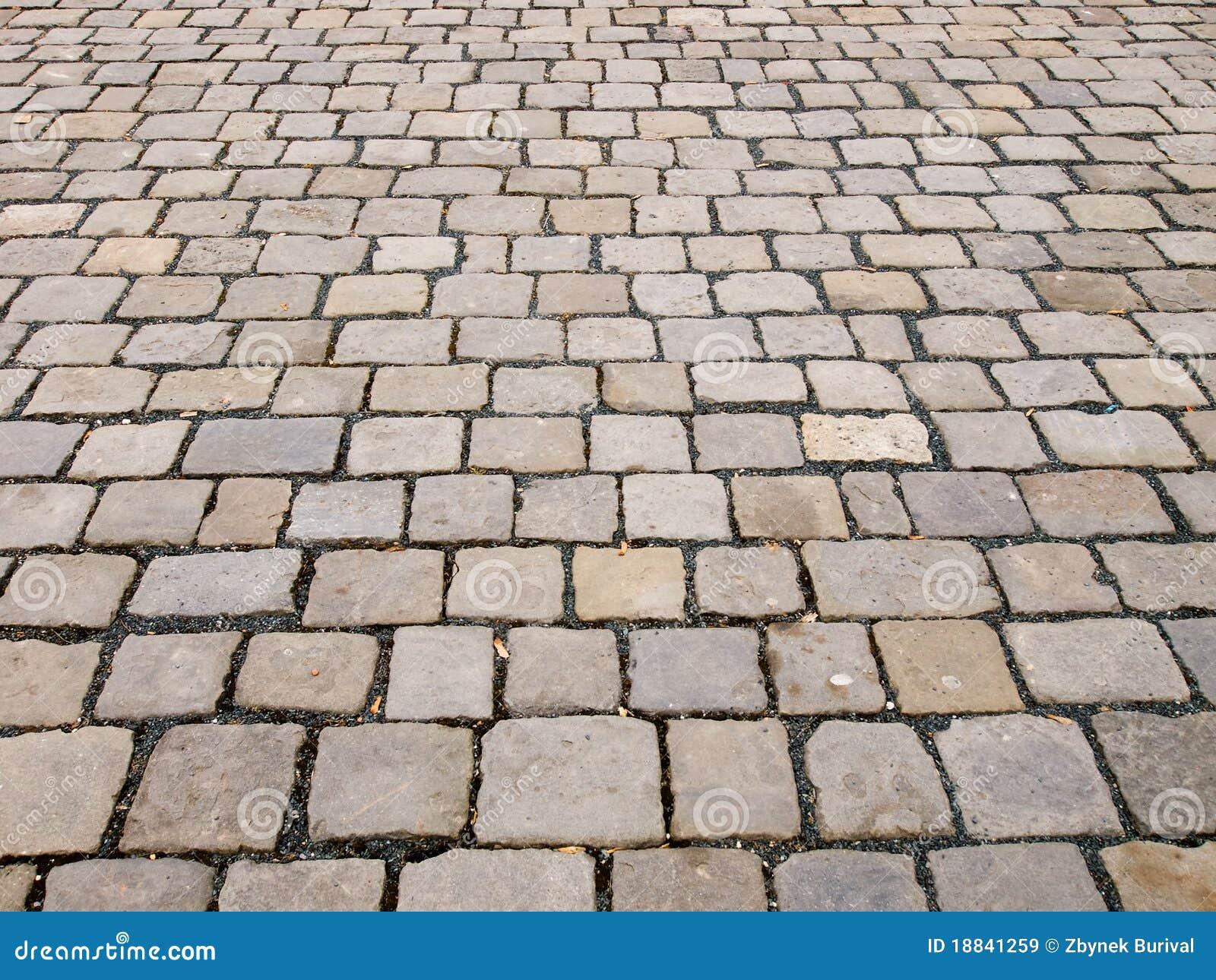 Pavimento de piedra del bloque imagen de archivo imagen - Pavimentos de piedra natural ...