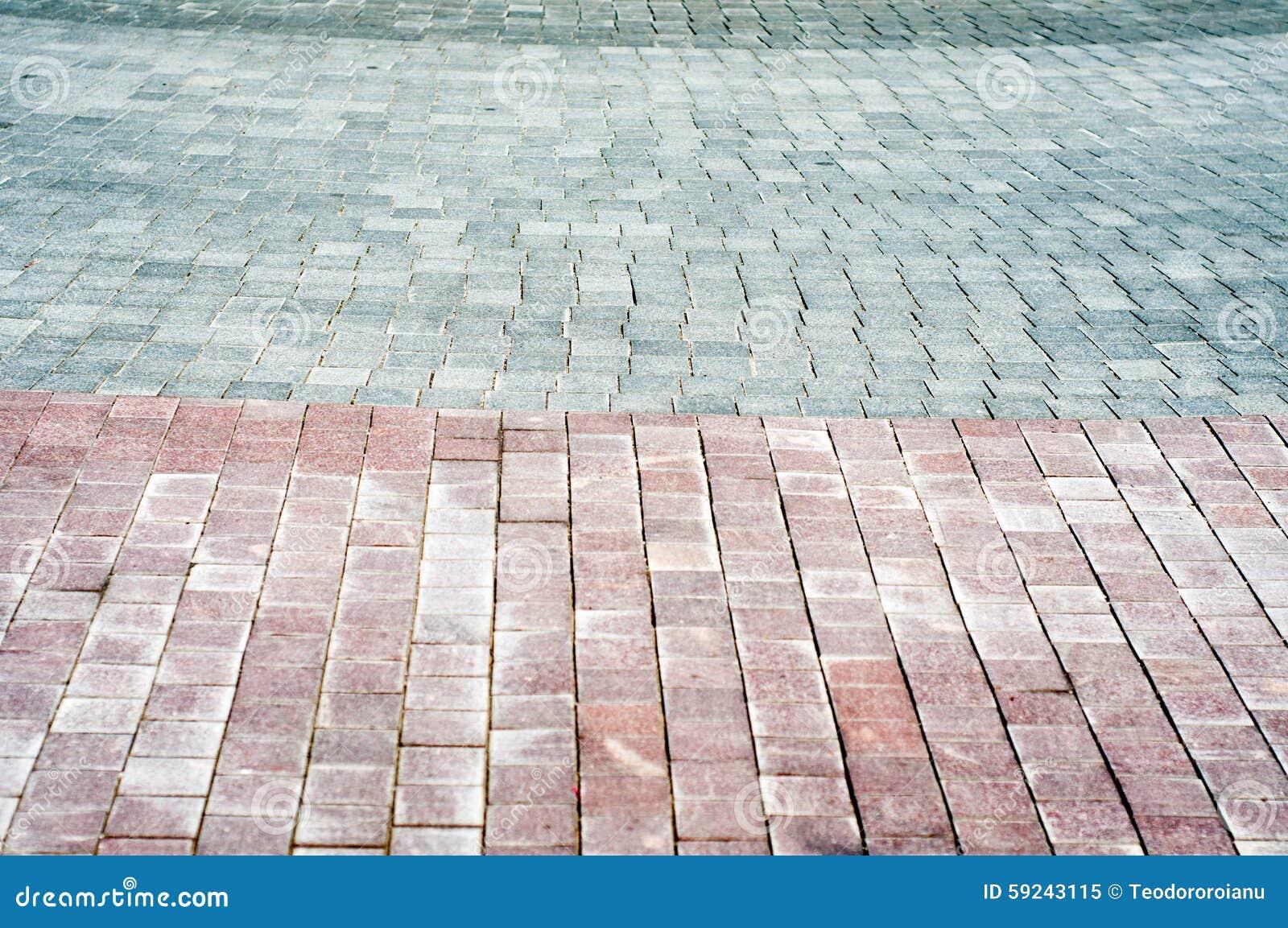 Pavimento del guijarro