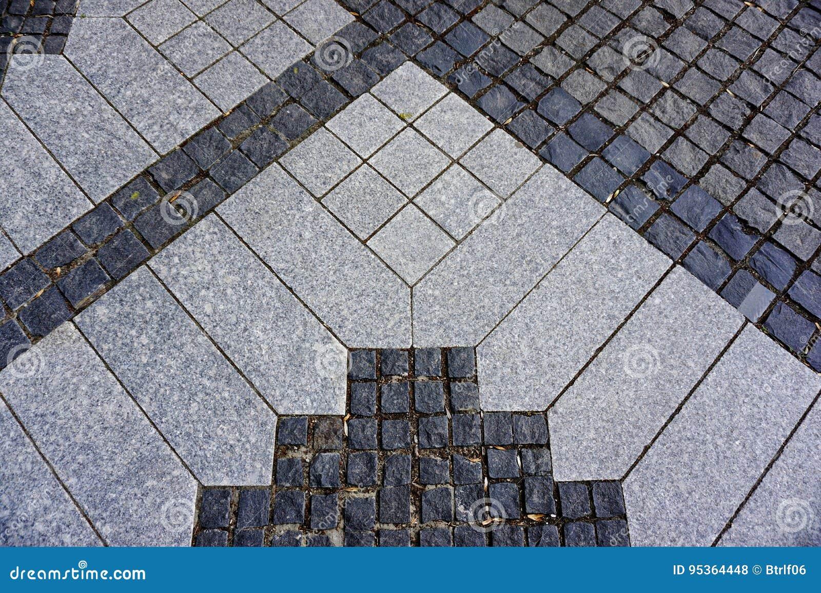 Pavimento detalhado