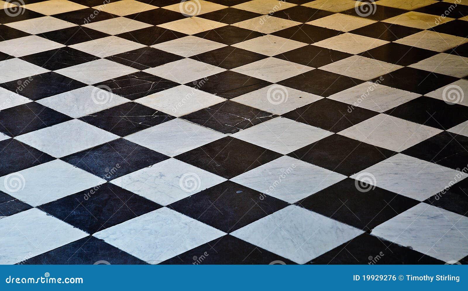 Pavimento di marmo in bianco e nero immagine stock libera for Pavimento bianco e nero