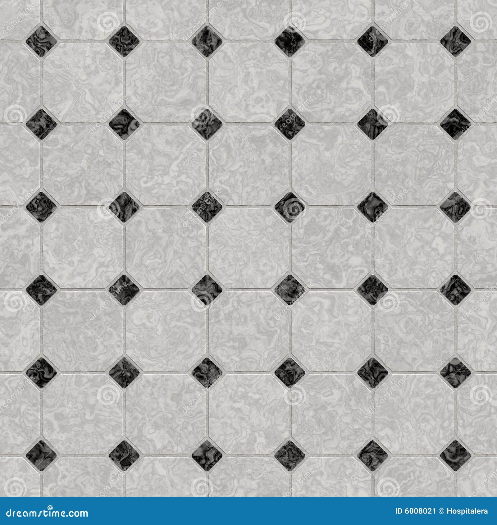 Pavimento di marmo in bianco e nero elegante immagine stock immagine 6008021 - Piastrelle bianche e nere ...