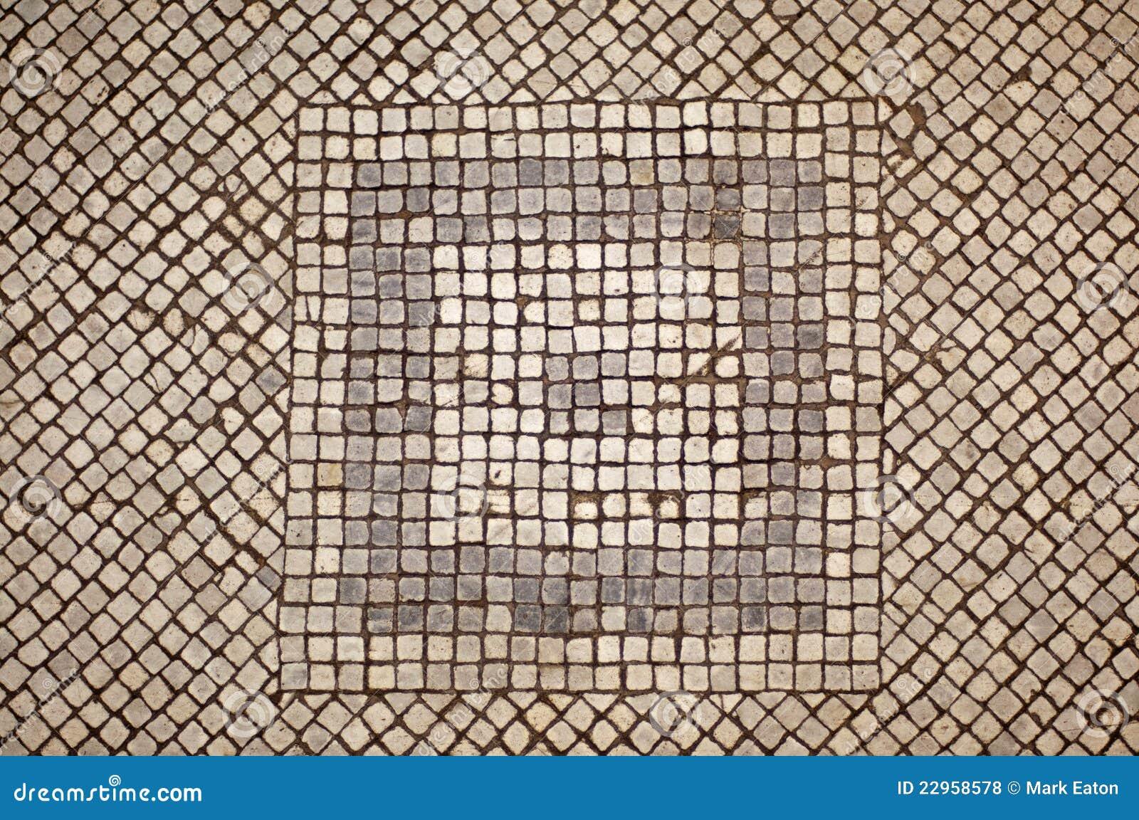 Pavimento di mosaico fotografia stock immagine di grigio for Mosaico pavimento