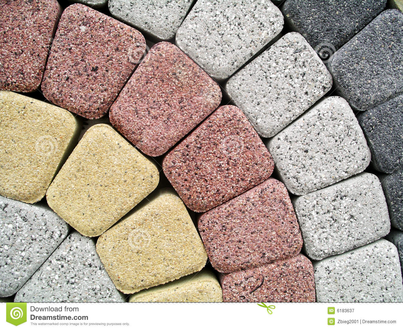 Paving stones royalty free stock photography image 6183637